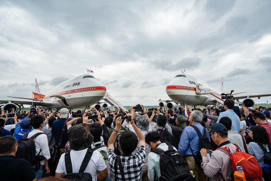 747政府専用機の最後の展示だった千歳基地航空祭と、味の羊ヶ丘のジンギスカン