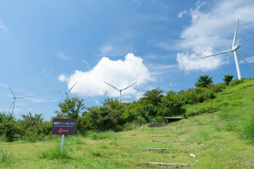稲取細野高原から見渡す東伊豆町と、かっぱ食堂の肉チャーハン